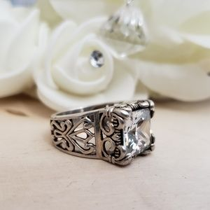 Jewelry - 925 Sterling Silver Silpada Retired Ring Size 7